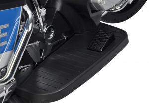 Motocicleta electrica de politie Premier BMW R1200 RT-P, 12V, girofar si sunete, roti ajutatoare11