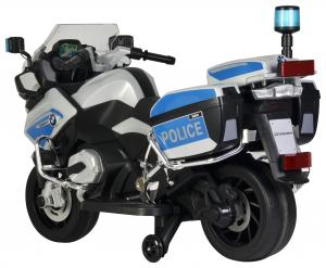 Motocicleta electrica de politie Premier BMW R1200 RT-P, 12V, girofar si sunete, roti ajutatoare7