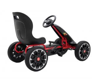 Kart Abarth negru cu pedale pentru copii [4]