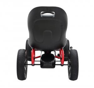 Kart Abarth negru cu pedale pentru copii [6]