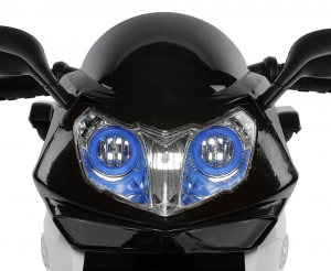 Motocicleta electrica cu 3 roti Premier HP2, 6V, 2 motoare, MP3, negru3