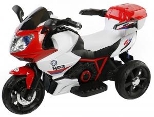 Motocicleta electrica cu 3 roti Premier HP2, 6V, 2 motoare, MP3, rosu [3]