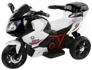 Motocicleta electrica cu 3 roti Premier HP2, 6V, 2 motoare, MP3, negru0