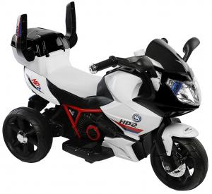 Motocicleta electrica cu 3 roti Premier HP2, 6V, 2 motoare, MP3, negru1