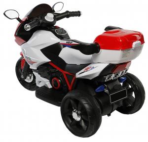 Motocicleta electrica cu 3 roti Premier HP2, 6V, 2 motoare, MP3, rosu [2]