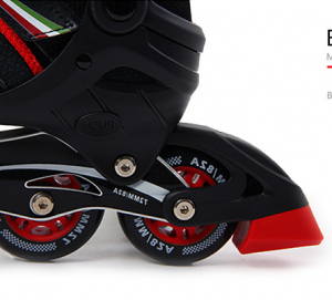 Role Ferrari pentru copii cu roti din silicon6