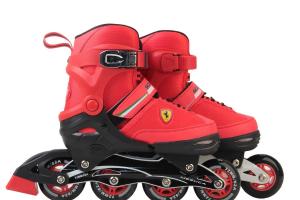 Role Ferrari pentru copii cu roti din silicon1