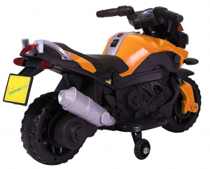 MMotocicleta electrica cu 2 roti Premier Rider, 6V, muzica, roti ajutatoare1