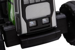 Tractor electric cu remorca Premier Farm, 12V, roti cauciuc EVA18