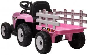Tractor electric cu remorca Premier Farm, 12V, roti cauciuc EVA8
