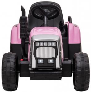 Tractor electric cu remorca Premier Farm, 12V, roti cauciuc EVA11