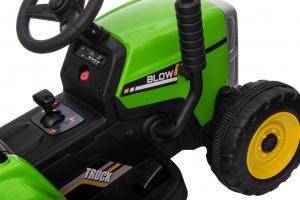 Tractor electric cu remorca Premier Farm, 12V, roti cauciuc EVA21