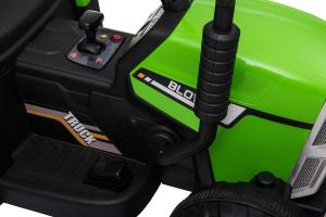 Tractor electric cu remorca Premier Farm, 12V, roti cauciuc EVA20
