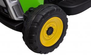 Tractor electric cu remorca Premier Farm, 12V, roti cauciuc EVA16