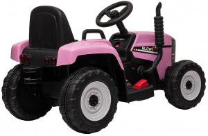 Tractor electric cu remorca Premier Farm, 12V, roti cauciuc EVA23