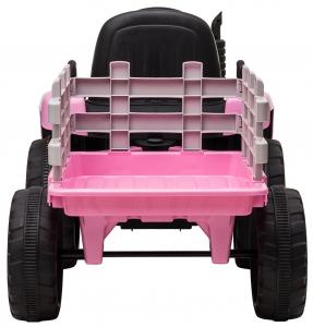 Tractor electric cu remorca Premier Farm, 12V, roti cauciuc EVA10