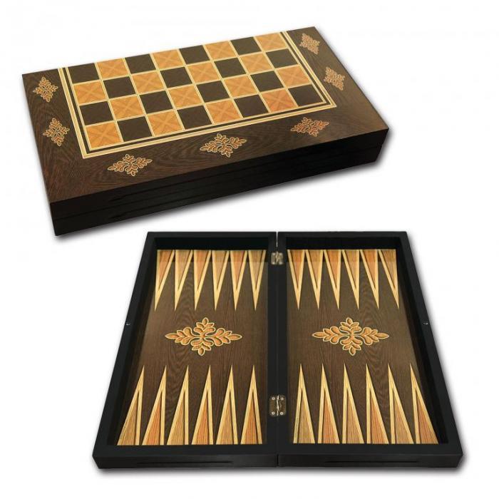 Joc table/backgammon cu tabla sah ANTIC 0