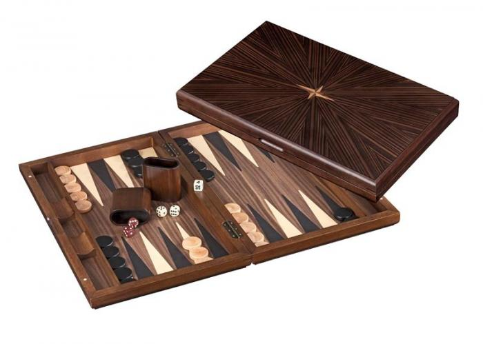 Set joc table backgammon - Iraklia - 49x60 cm imagine