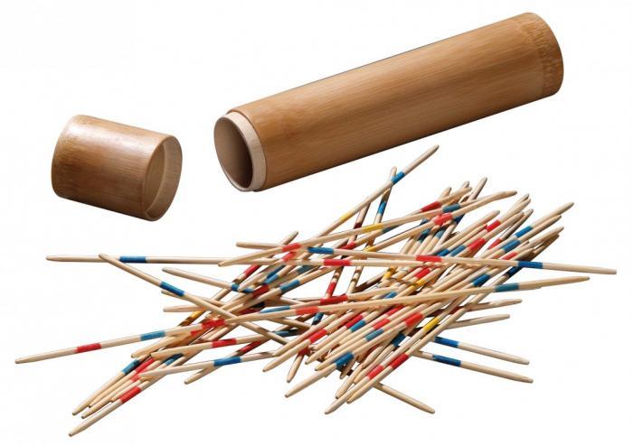 Joc Mikado/ Marocco la tub - bambus 0
