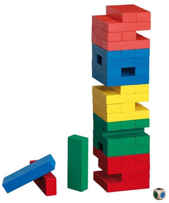 Tumbling Tower - in culori 0
