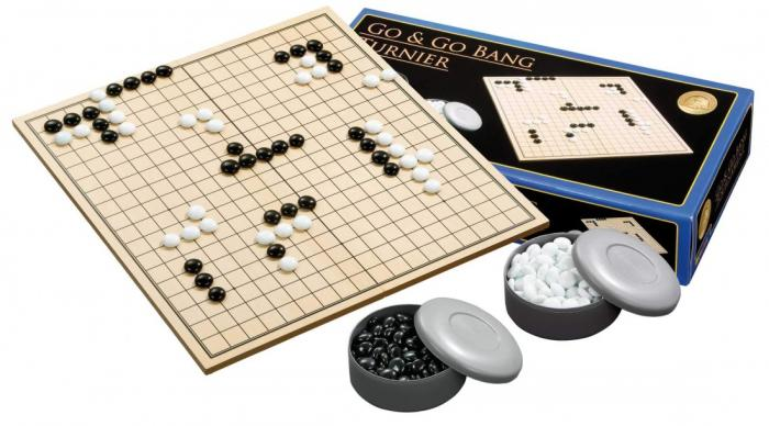 Joc Go - Turneu - 45,5 x 42,4 cm, piese sticla