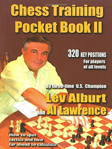 Carte : Chess Training Pocket Book II - 320 Key positions for players of all levels - Lev Alburt 0
