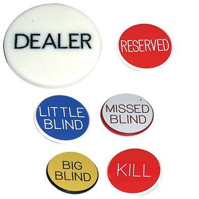 Unelte dealer – set complet de butoane 0