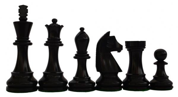 Piese sah lemn Staunton 6 Clasic Superior, EQ, Black [1]