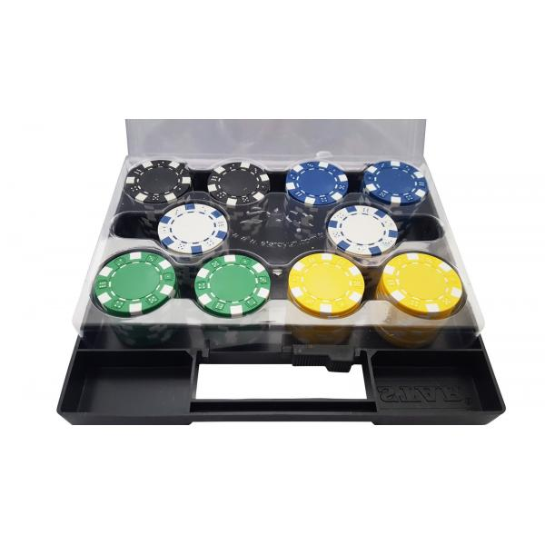 Set 100 jetoane poker DICE 11 gr. 1