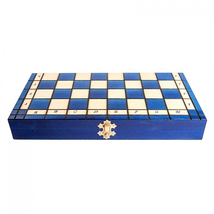 Set de sah Royal Maxi BLUE 2