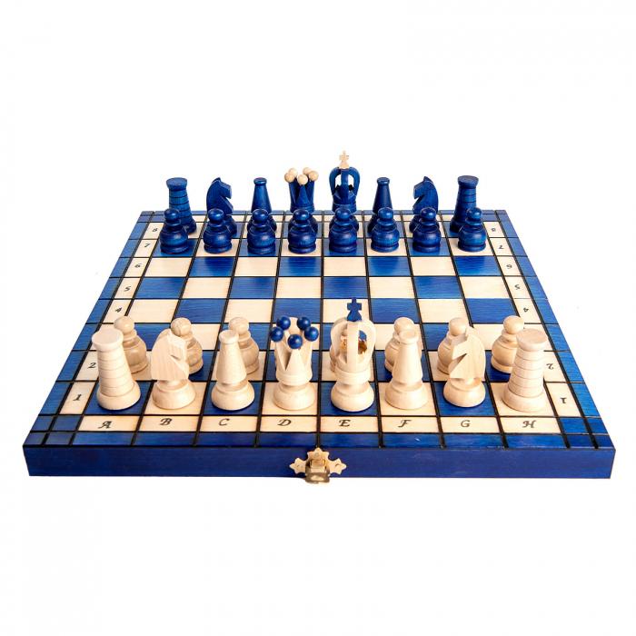 Set de sah Royal Maxi BLUE 4