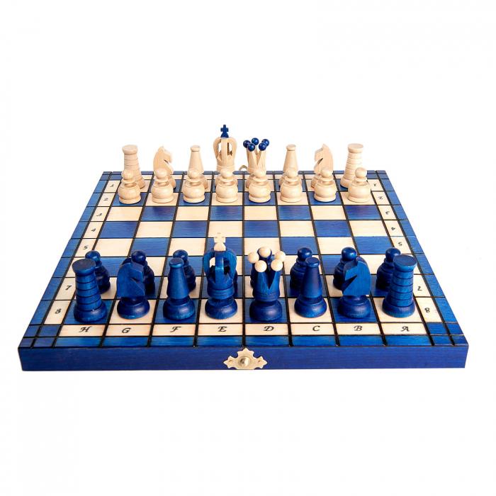 Set de sah Royal Maxi BLUE 5