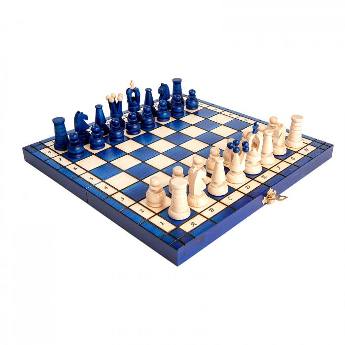 Set de sah Royal Maxi BLUE 0