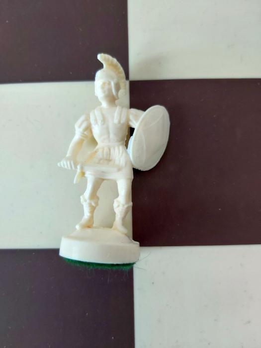 Pion Alb Rezerva pentru setul tematic din plastic Roma Antica [0]