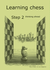 Learning chess - Workbook Step 2 thinking ahead - Caiet de exercitii [0]