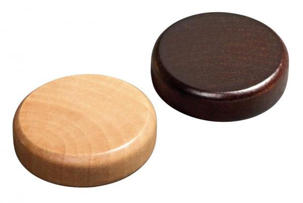 Puluri din lemn pentru jocul de table - 30mm