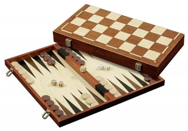 Set de sah si table/backgammon - 45mm, kh 78mm, 5