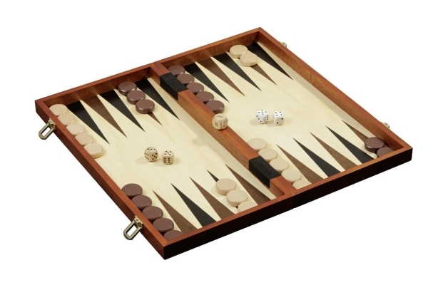 Set de sah si table/backgammon - 45mm, kh 78mm, 3