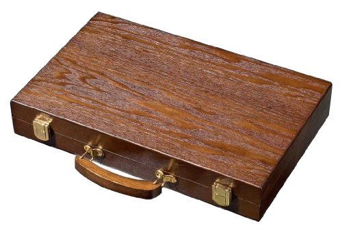 Set joc table / backgammon - frasin - 38x48 cm 0