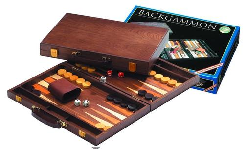 Set joc table / backgammon - frasin - 38x48 cm 3