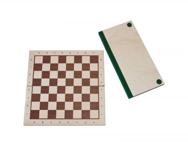 Tabla de sah pliabila - lemn no 5 - artar imagine