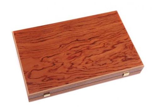 Set joc table/backgammon – lemn de trandafir – nod inlaid– 48 x 60 cm - Desigilat 1