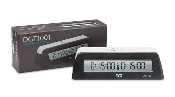 Ceas de sah DGT 1001 - negru 0