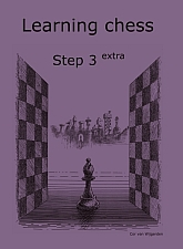 Learning chess - Step 3 EXTRA - Workbook / Pasul 3 extra - Caiet de exercitii 0