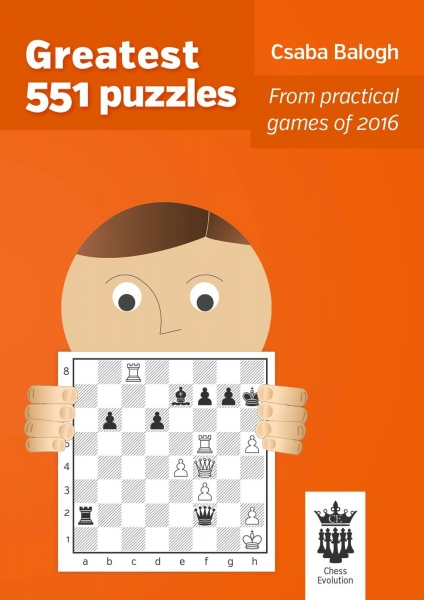 Carte : Greatest 551 puzzles, Csaba Balogh 0