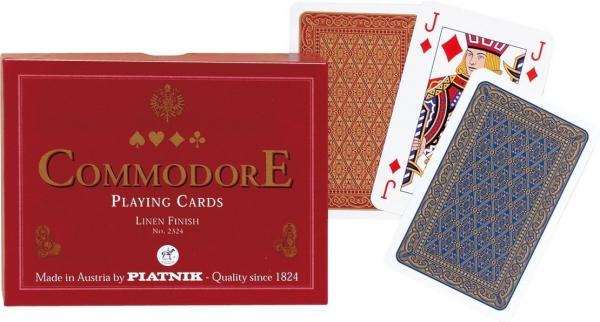 Carti de joc Commodore Red, double deck 0