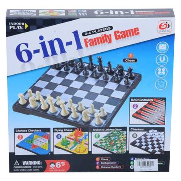 Set joc multiplu, 6 in 1 magnetic [0]