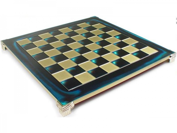 Tabla sah metal - Alama-Albastru - 44cm 0