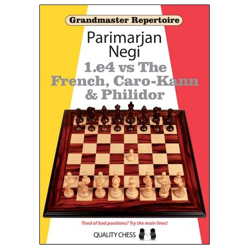 Carte: Grandmaster Repertoire - 1.e4 vs The French, Caro-Kann and Philidor / Parimarjan Negi 0