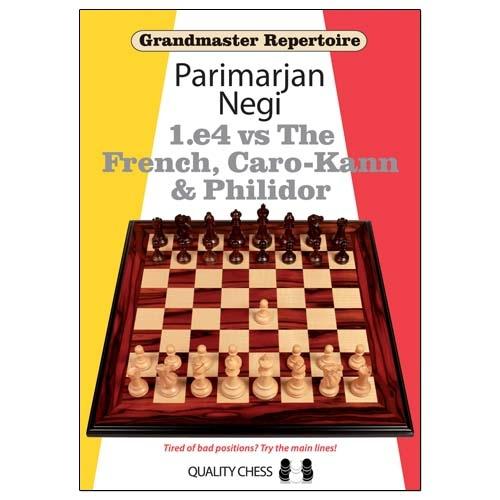 Carte: Grandmaster Repertoire - 1.e4 vs The French, Caro-Kann and Philidor / Parimarjan Negi [0]